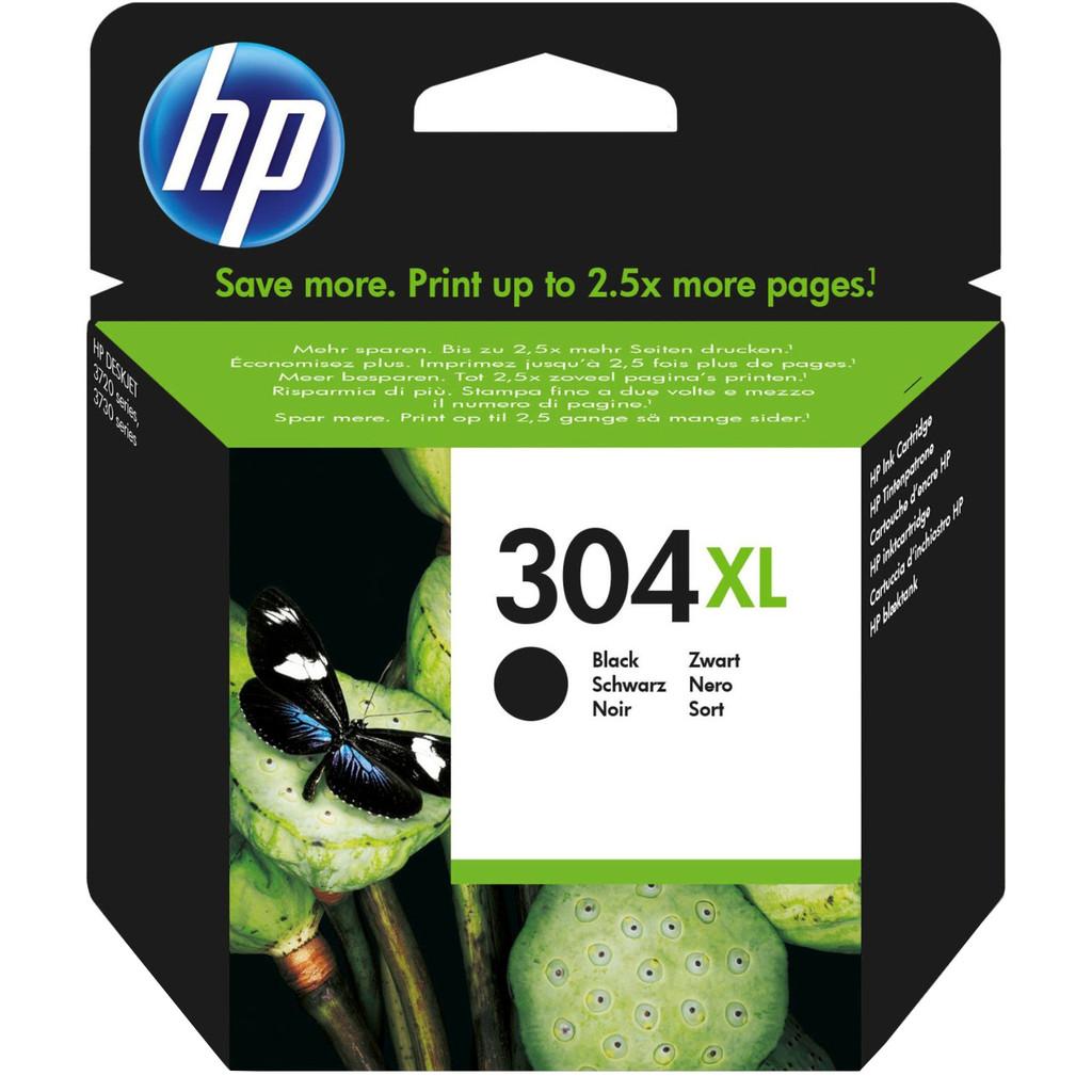 HP 304XL Cartridge Zwart (N9K08AE) in Patrijzenhoek