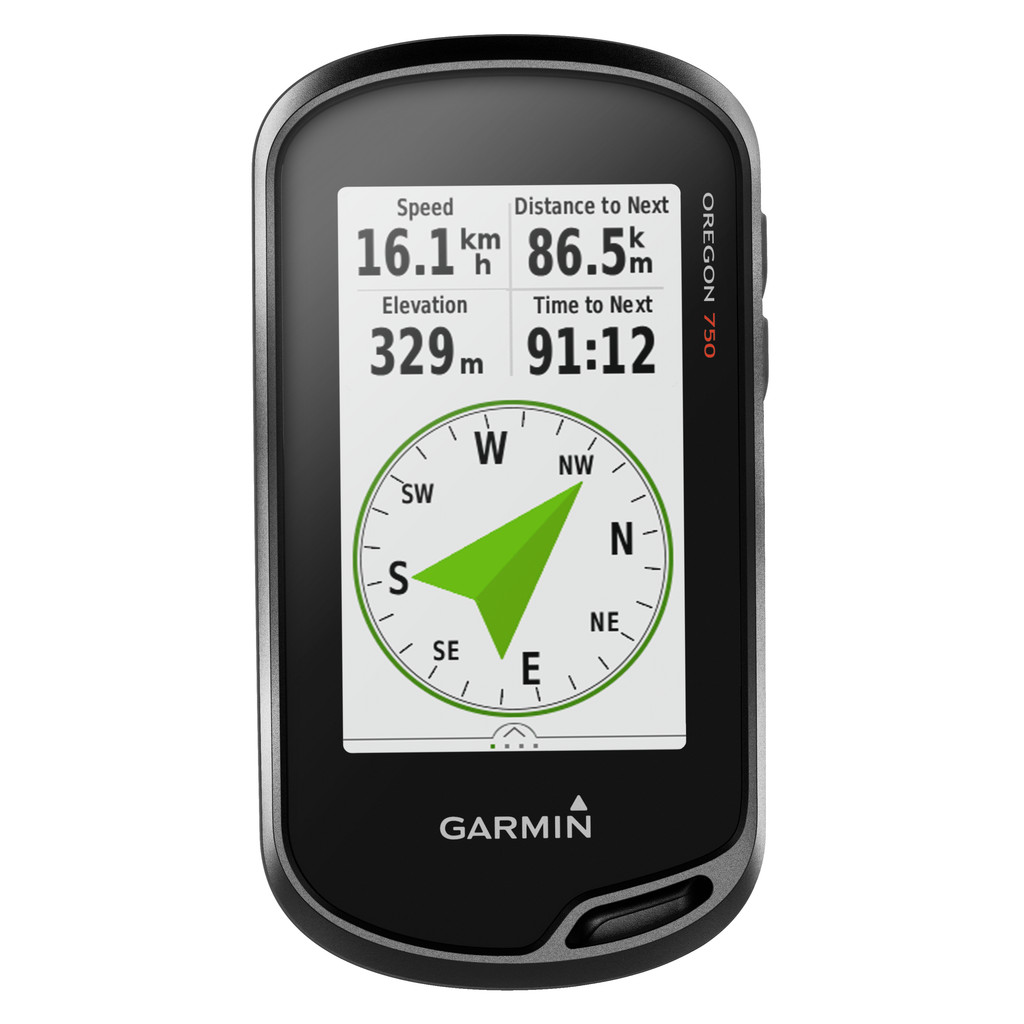 Garmin Oregon 750 in Den Velde