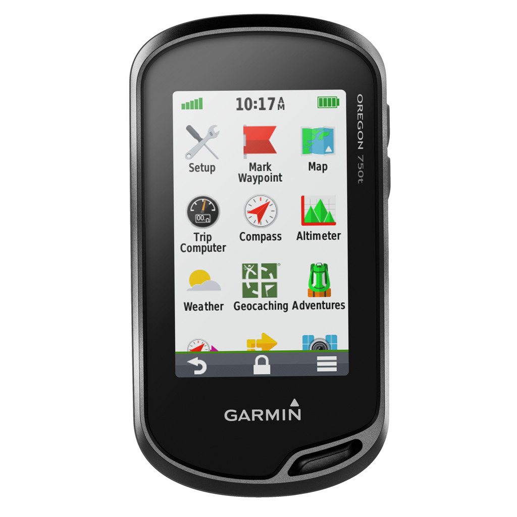 Garmin Oregon 750T in Courrière