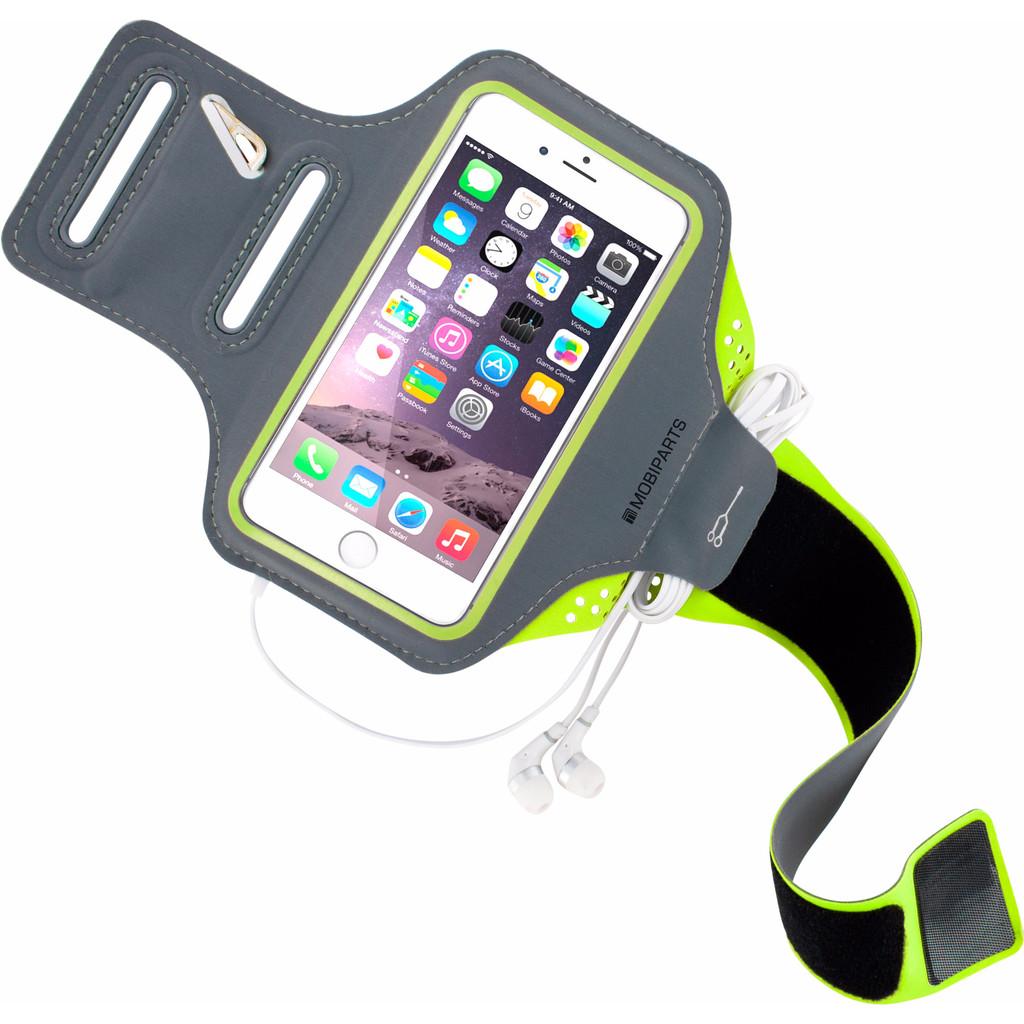 Mobiparts Comfort Fit Sportarmband Apple iPhone 6 6s Groen