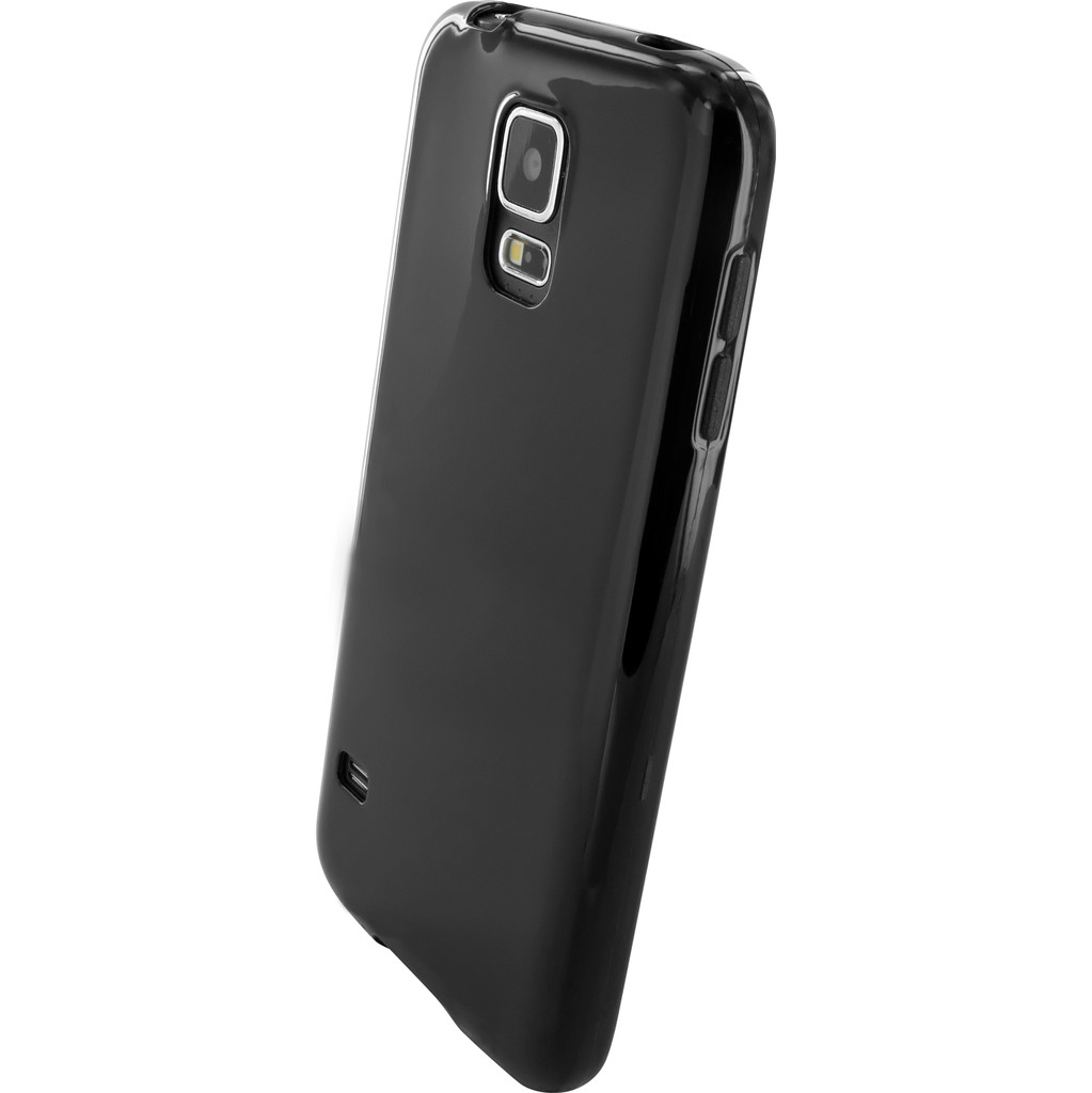 Mobiparts Essential TPU Case Samsung Galaxy S5-S5 Plus Black