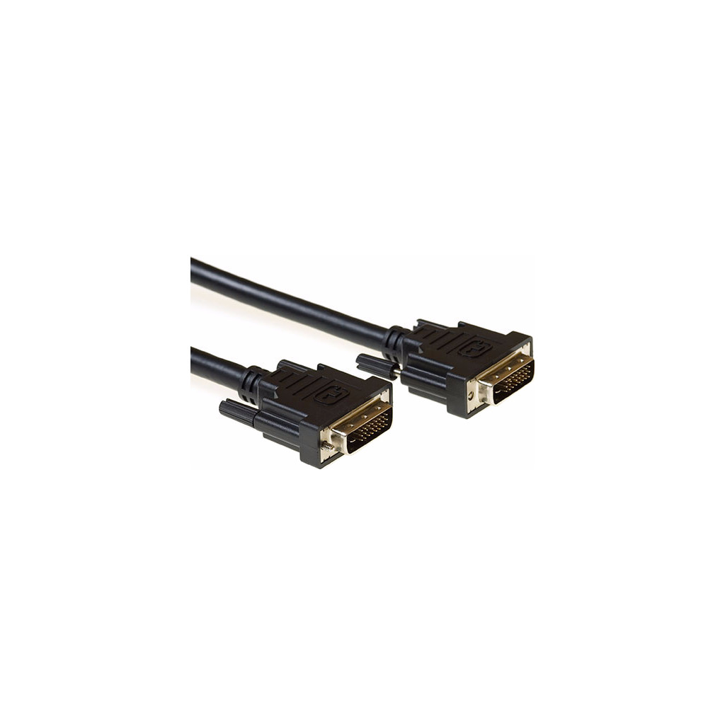 ACT DVI-D Dual Link Kabel 1 Meter in Plaat