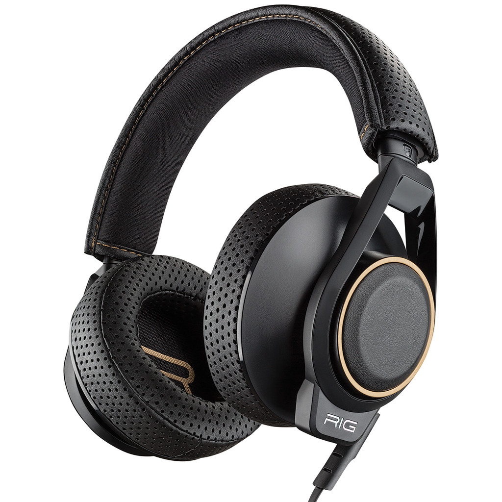 Plantronics RIG 600 Stereofonisch Hoofdband Zwart hoofdtelefoon