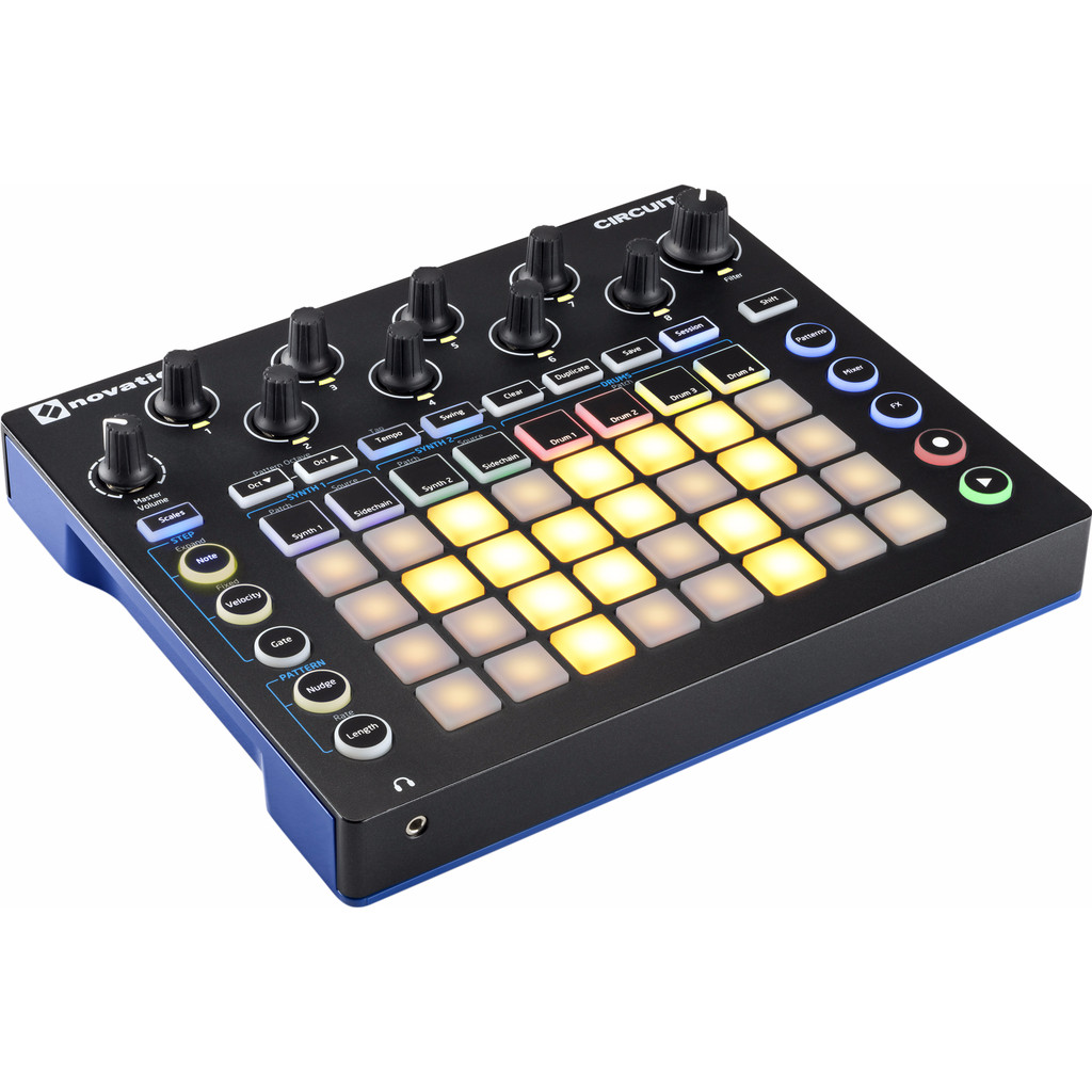 Novation Circuit in 't Heeske