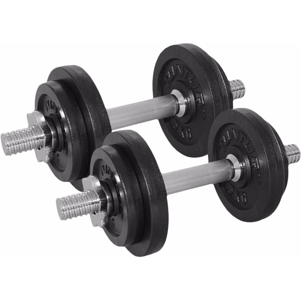 Tunturi Dumbbellset 2x 10 kg in Burst