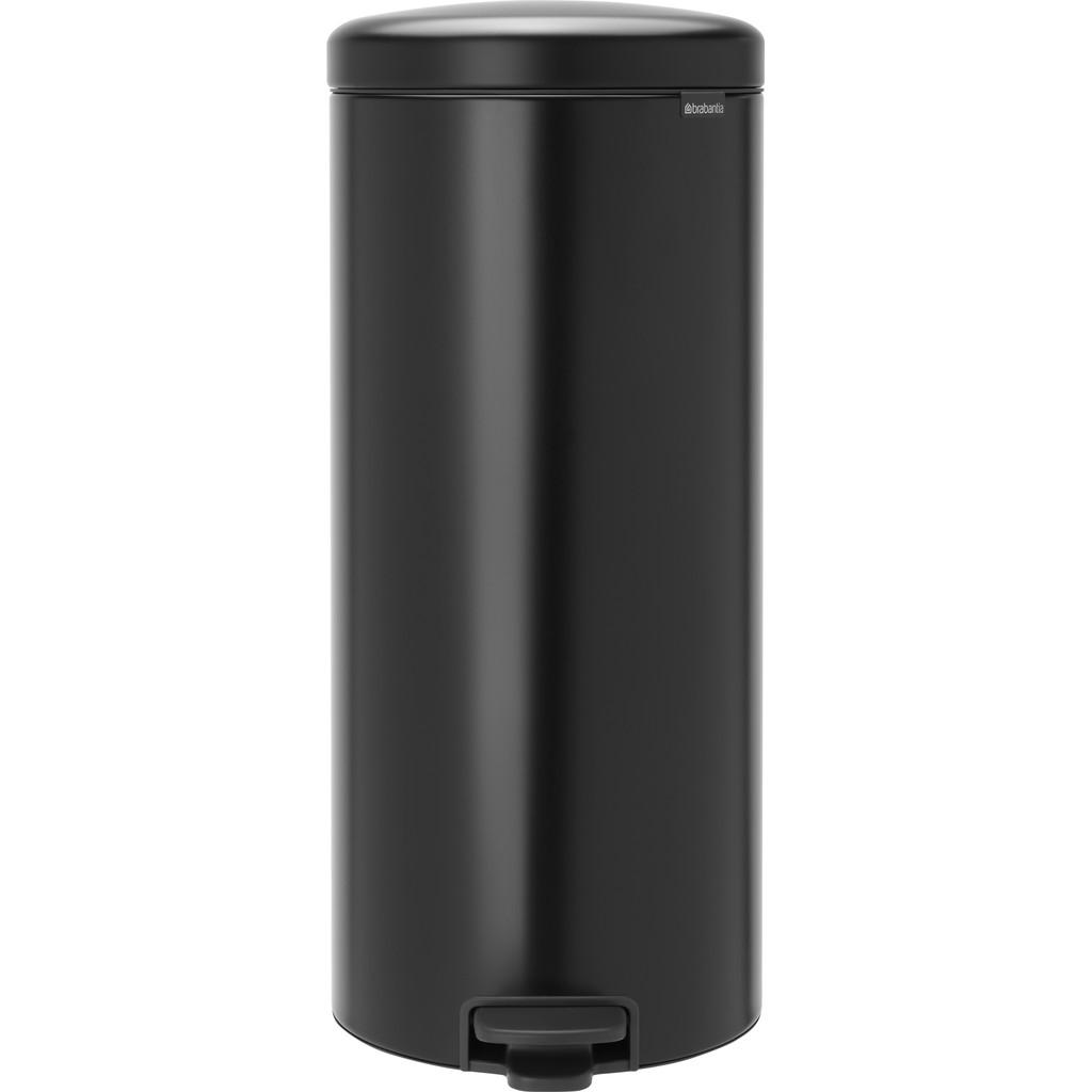 Brabantia NewIcon Pedaalemmer 30 Liter Mat Zwart
