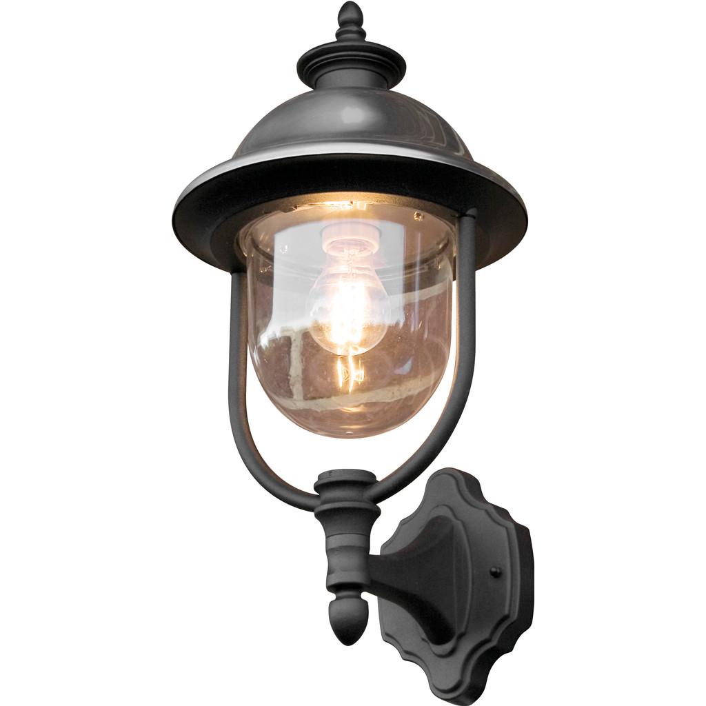 Tijdloze buitenwandlamp PARMA, staand