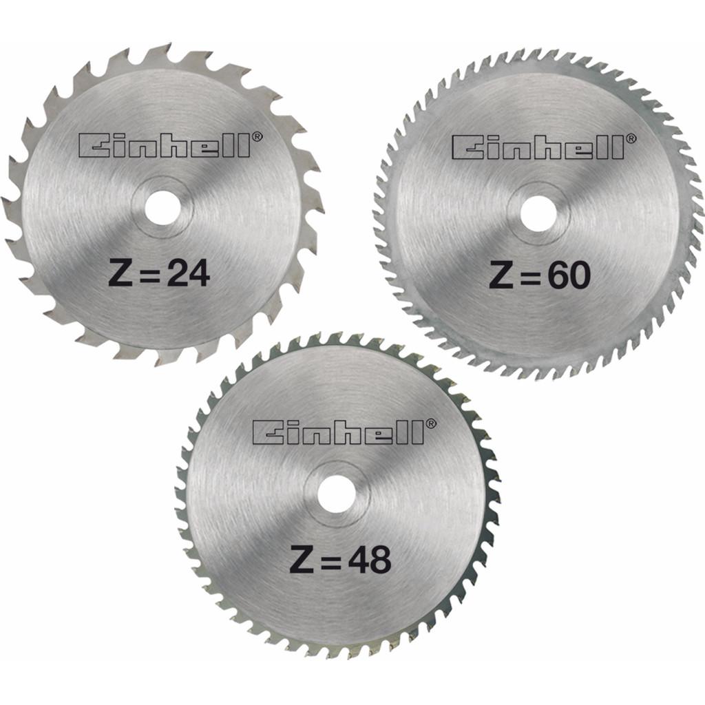 Einhell Zaagbladenset 210x30x2.5mm 24/48/60T kopen