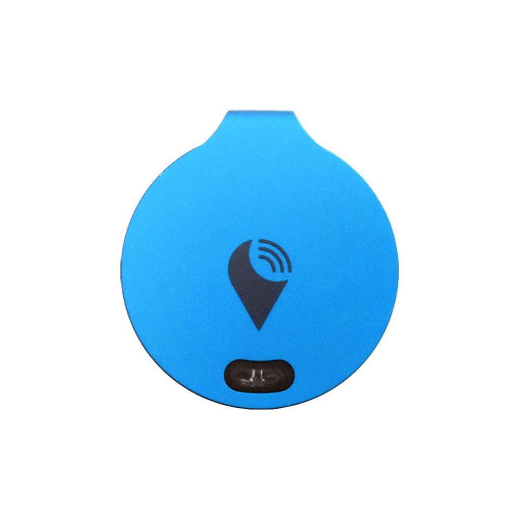 TrackR Bravo Blauw Single Pack in De Waal