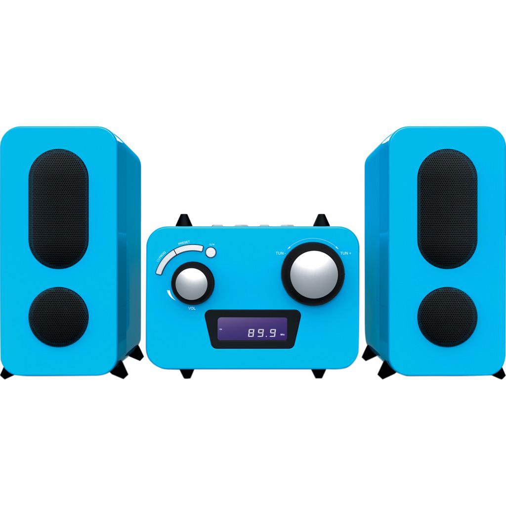 Bigben Interactive Big Ben, HiFi Micro System CD-Radio (Blauw) (MCD11BLSTICK)