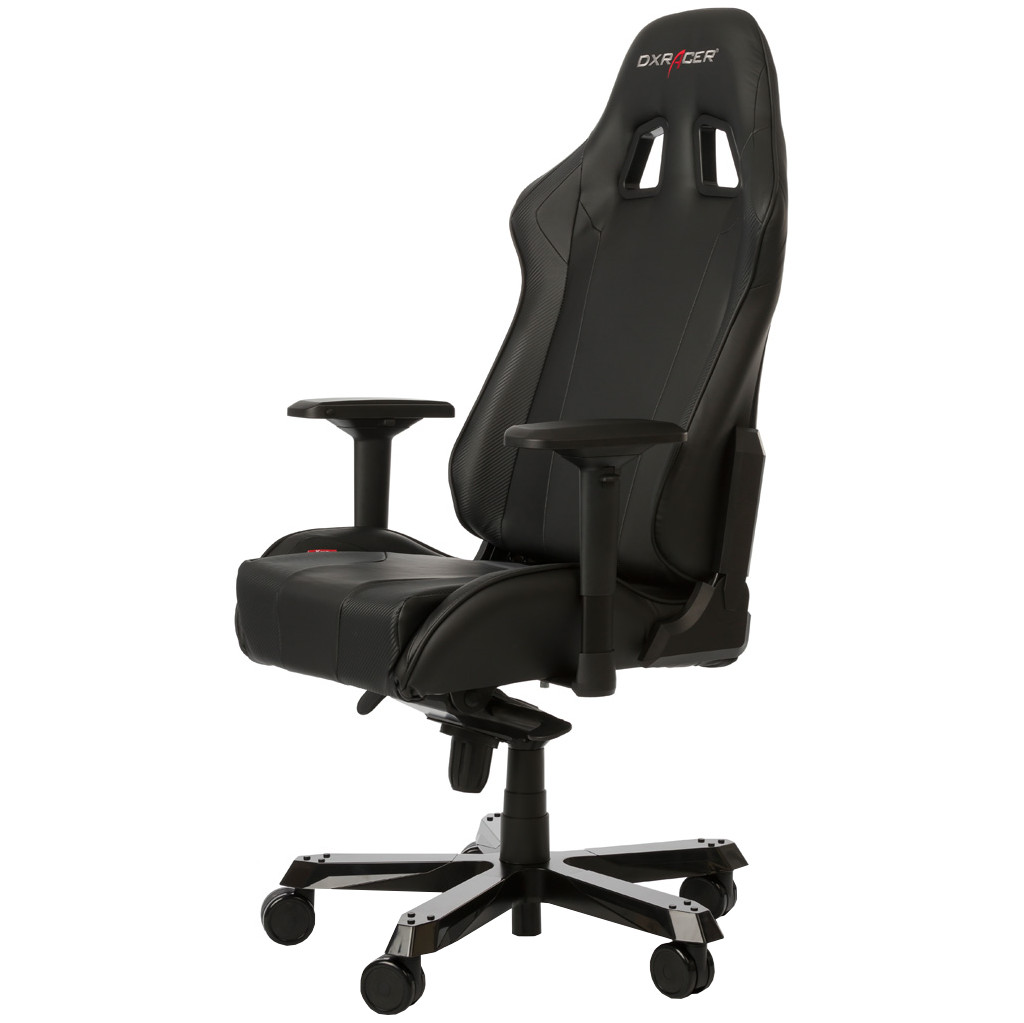 DX Racer KING Gaming Chair Zwart in Plakkebord