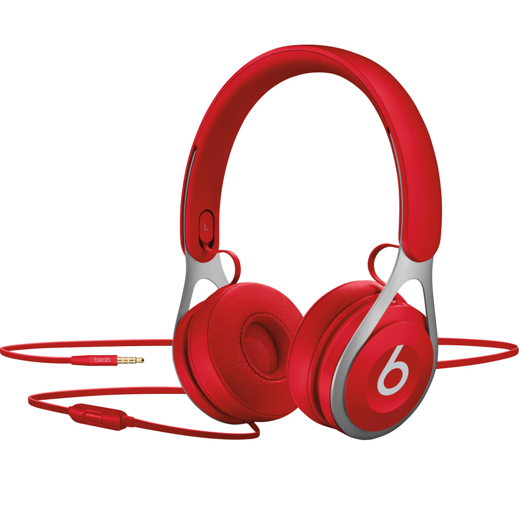 Beats Koptelefoon Kabel On Ear Headset Rood