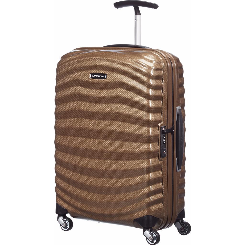 Samsonite Lite-Shock handbagage spinner sand