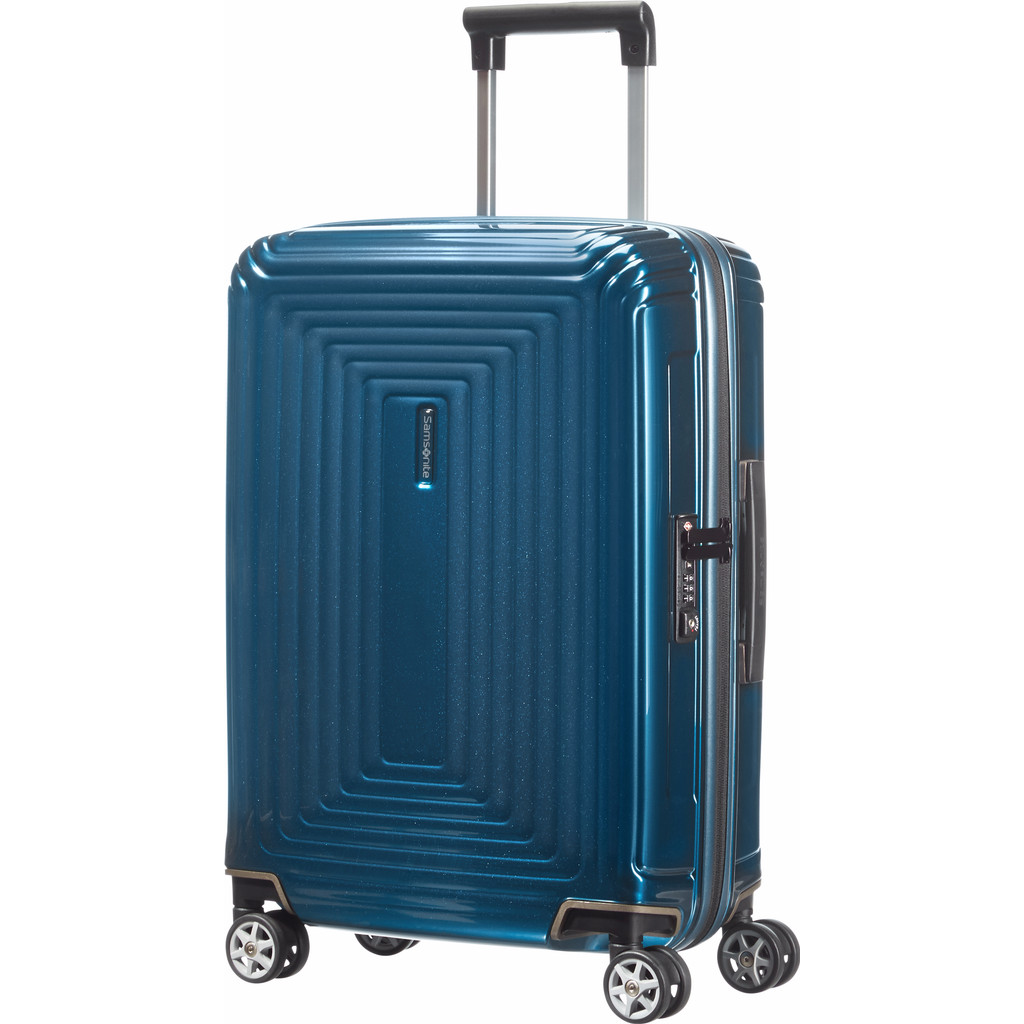 Samsonite Neopulse Handbagage Spinner Metallic Blue