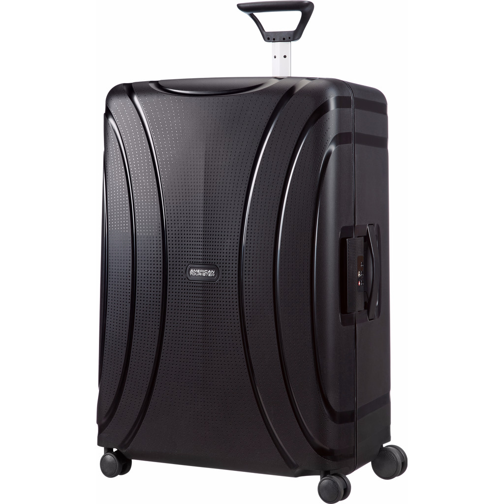 American Tourister Lock 'N' Roll Spinner 75cm Jet Black in Ommeren
