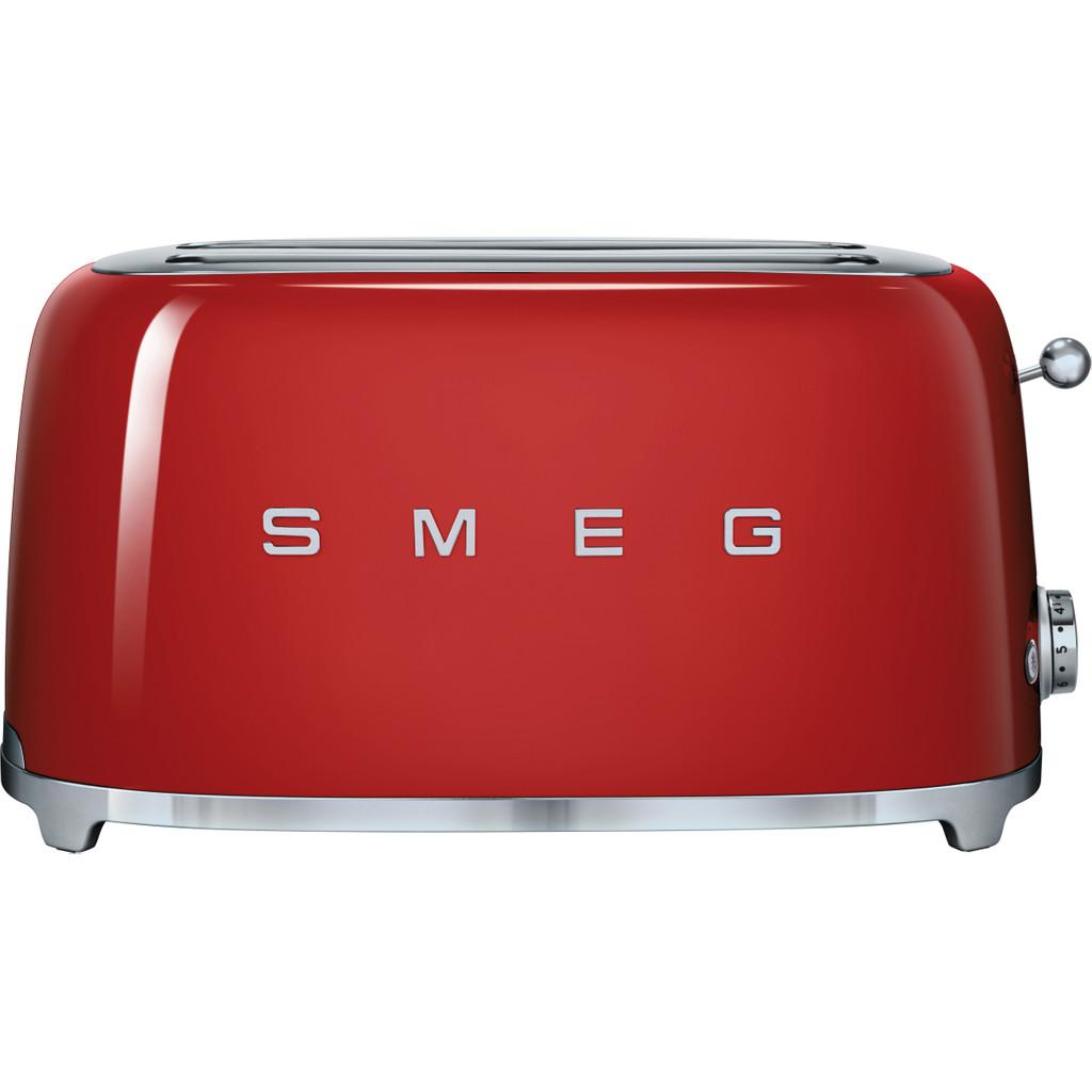 SMEG TSF02RDEU Retro Toaster Rood