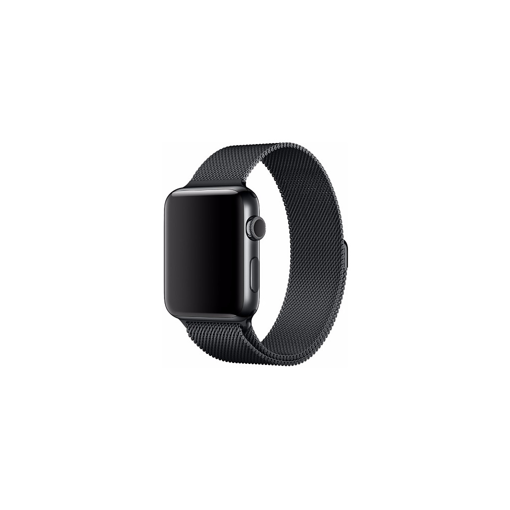 Apple Watch 42mm Polsband Milanees Spacezwart in Zuidzande