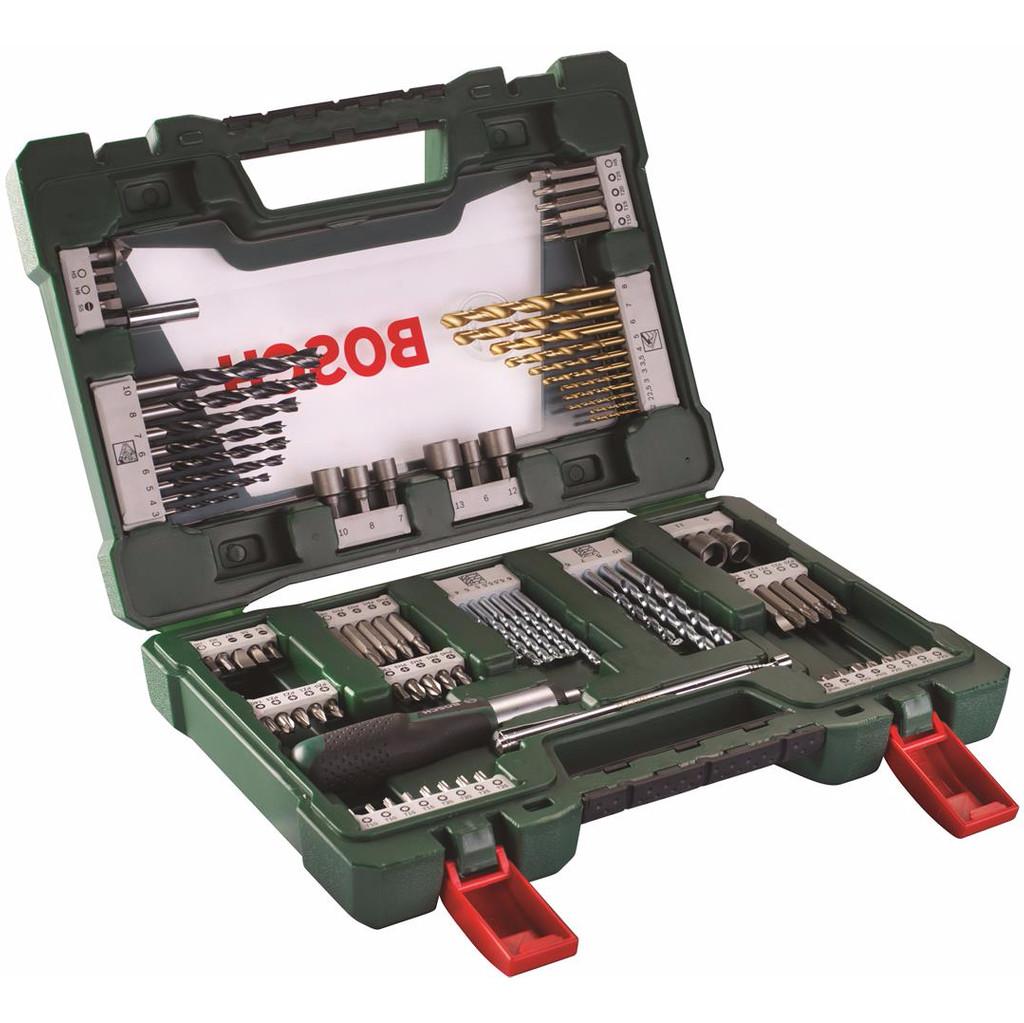 Bosch 91-delige Bit- en Borenset met Schroevendraaier en Pen in Crapoel