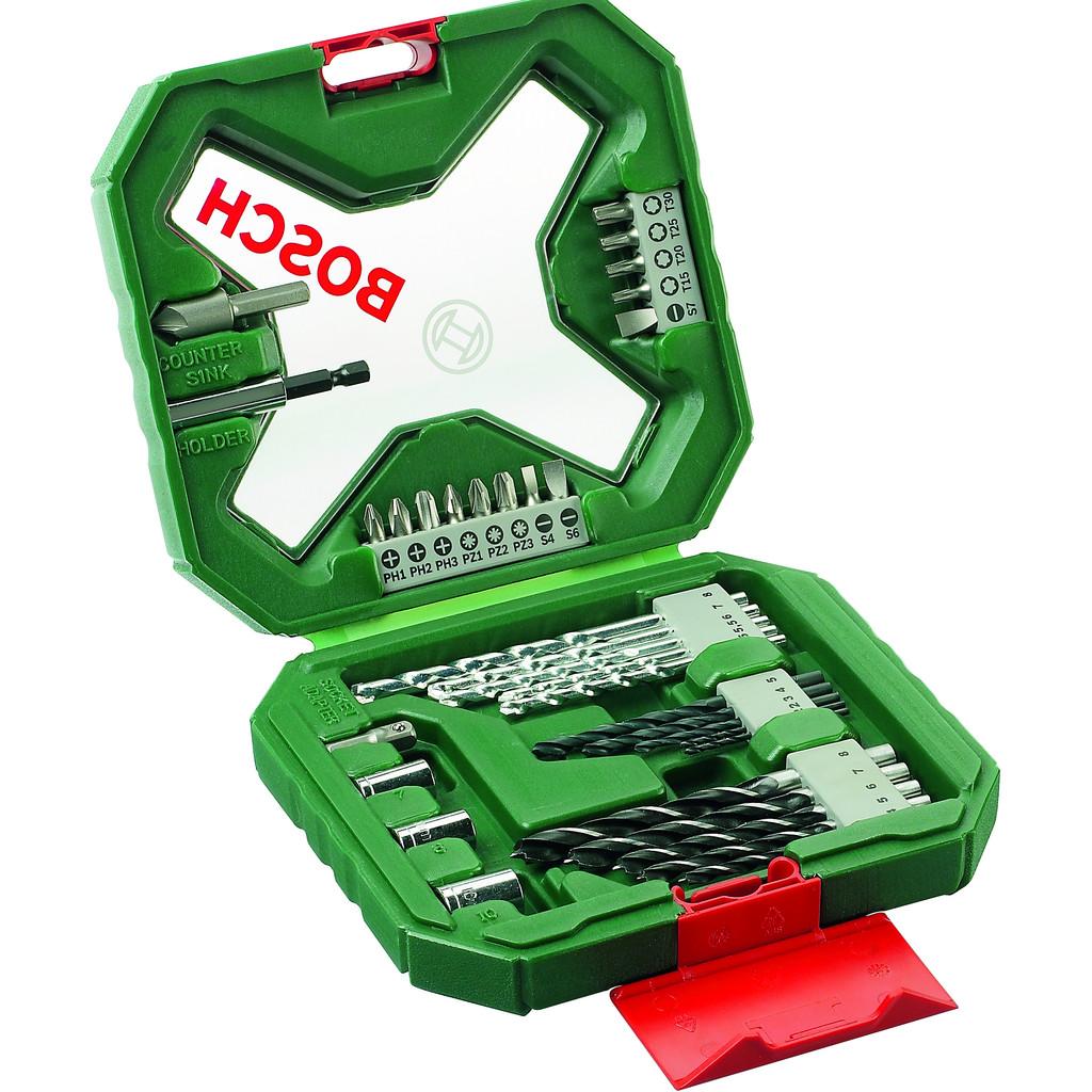 Bosch X-Line 34-delige accessoire set in Loo