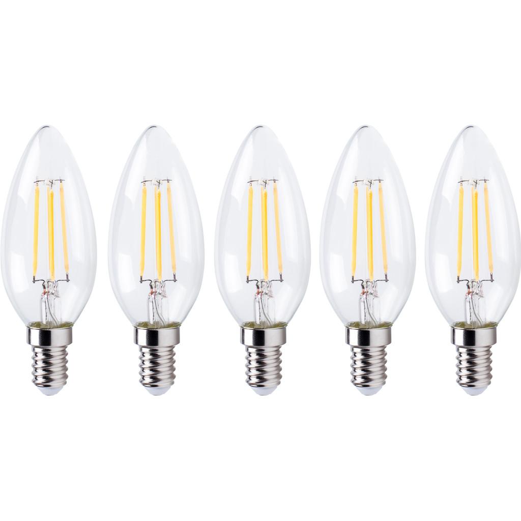 XQ LITE XQ1562 LED-Lamp Kaars E14 4W Dimbaar (5x) in Villers-Saint-Ghislain