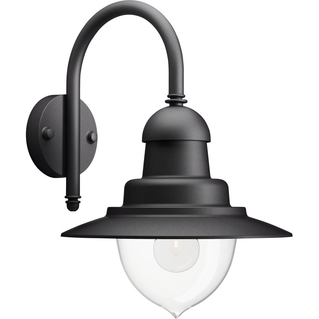 Wandlamp Raindrop zwart