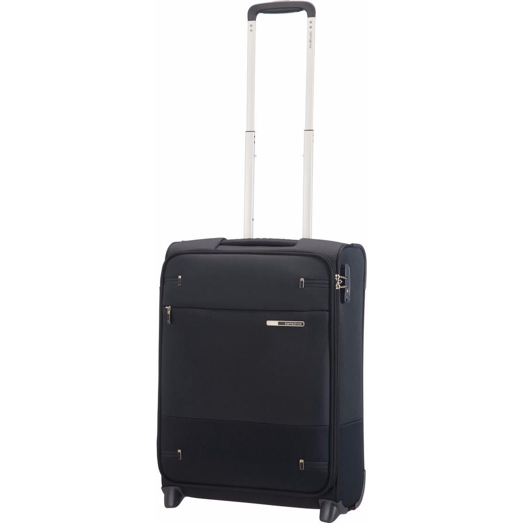 Samsonite Base Boost Upright 55 Length 40 cm black Zachte koffer