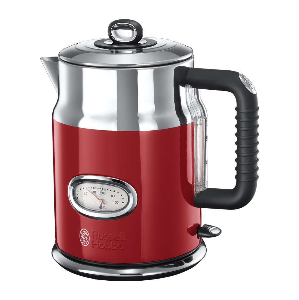 Russell Hobbs Retro Ribbon Waterkoker Rood in Longchamps (Nam.)