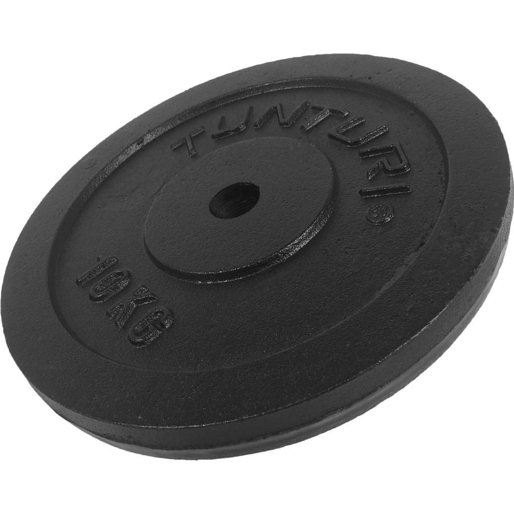 Tunturi Plate 1x 10 kg Black in Heereind