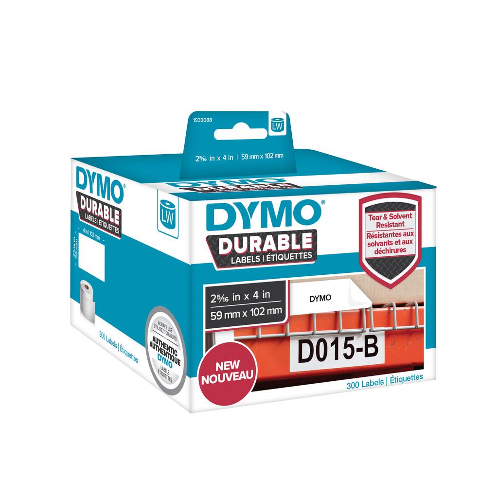 Dymo LW Duurzame Label Wit 50 Labels (59 mm x 102 mm) in Zarlardinge