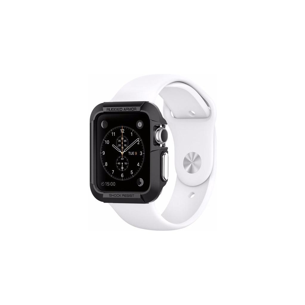 Spigen Rugged Armor Apple Watch 38mm Case Zwart kopen