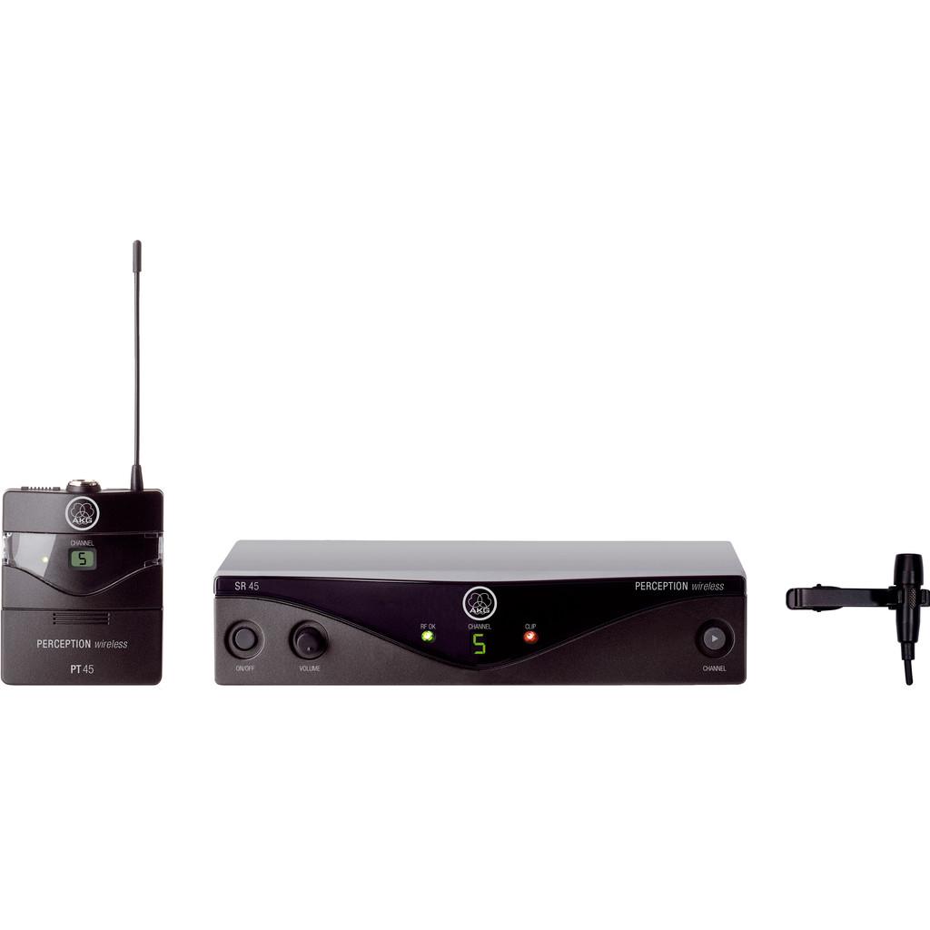 AKG WMS45 Band A (530-560MHz) Perception Wireless Presenter Set