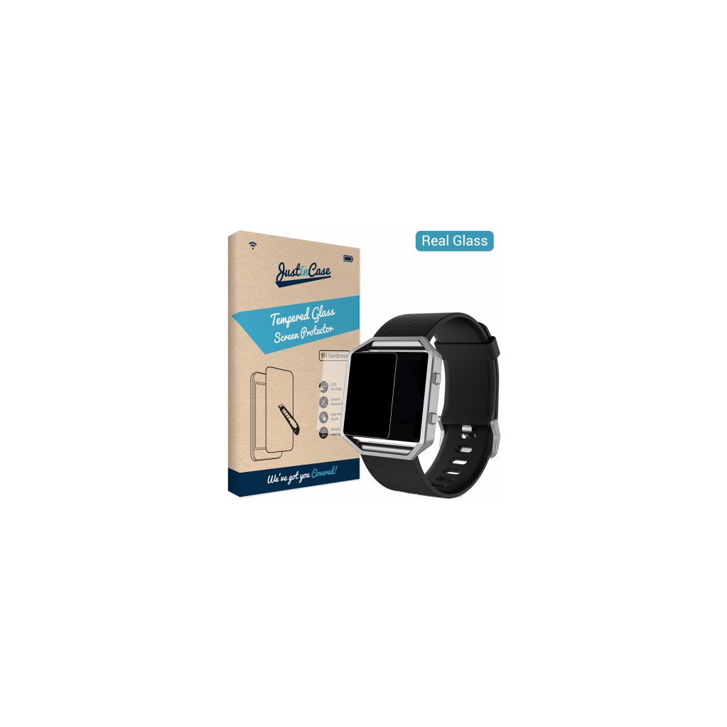 Just in Case Tempered Glass Fitbit Blaze in Scharmer