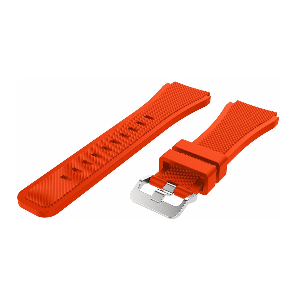 Just in Case Samsung Gear S3 Silicone Watchband Orange kopen