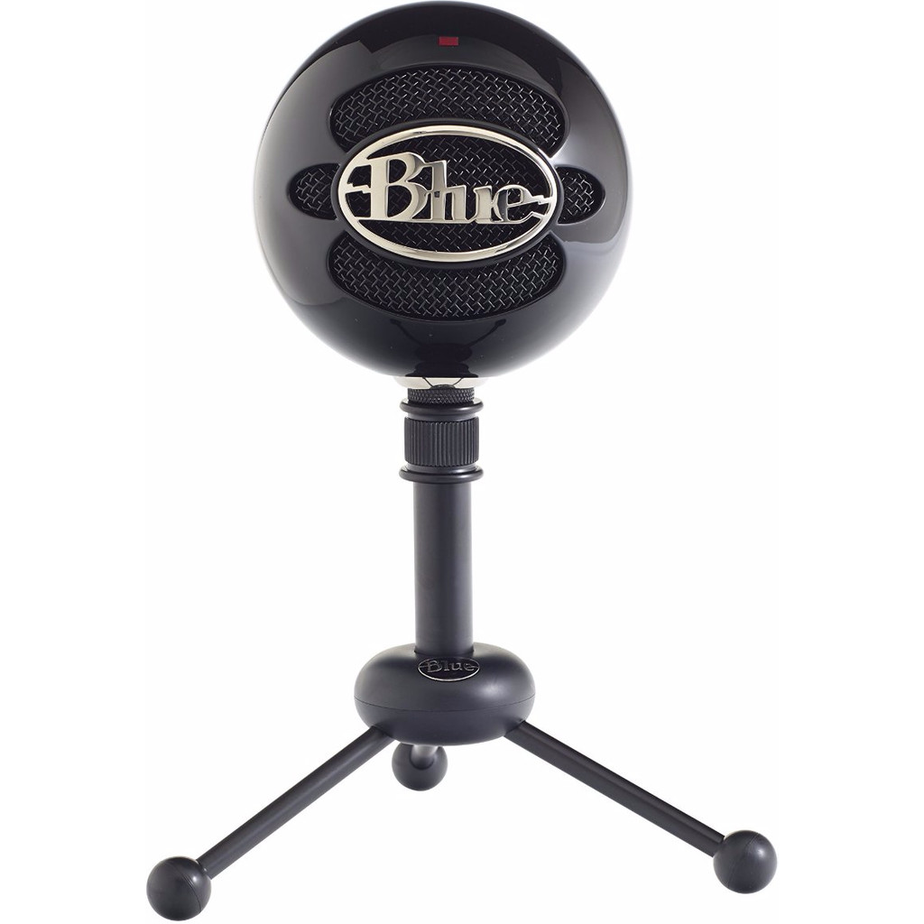 Blue Snowball Gloss Black in Balâtre