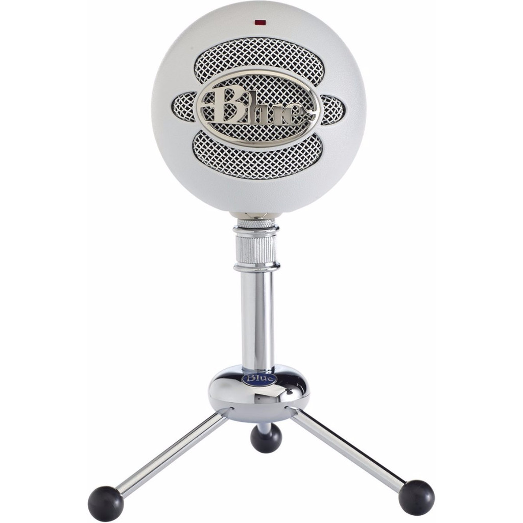 Afbeelding van Blue Snowball USB Microphone Textured White