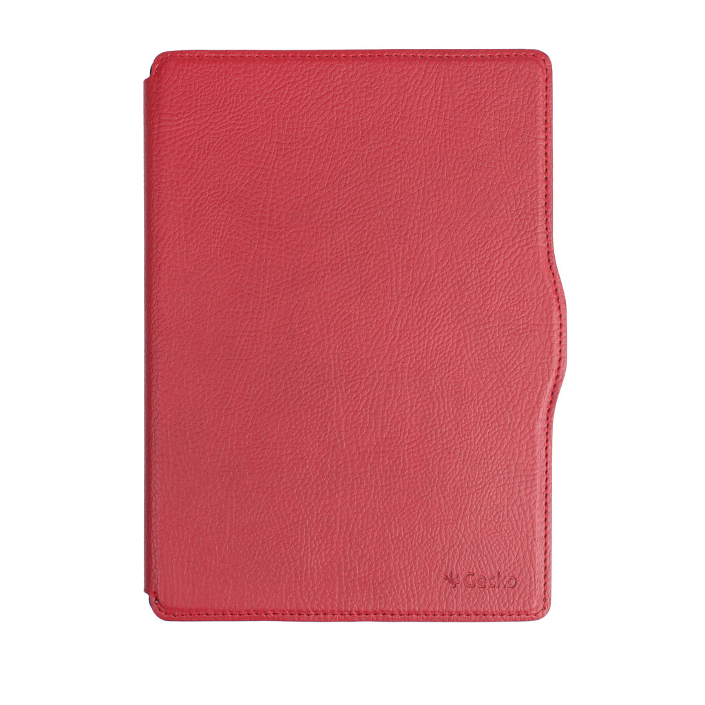 Gecko Covers Kobo Aura One Hoes Slimfit Waterproof Rood in Neerlangel