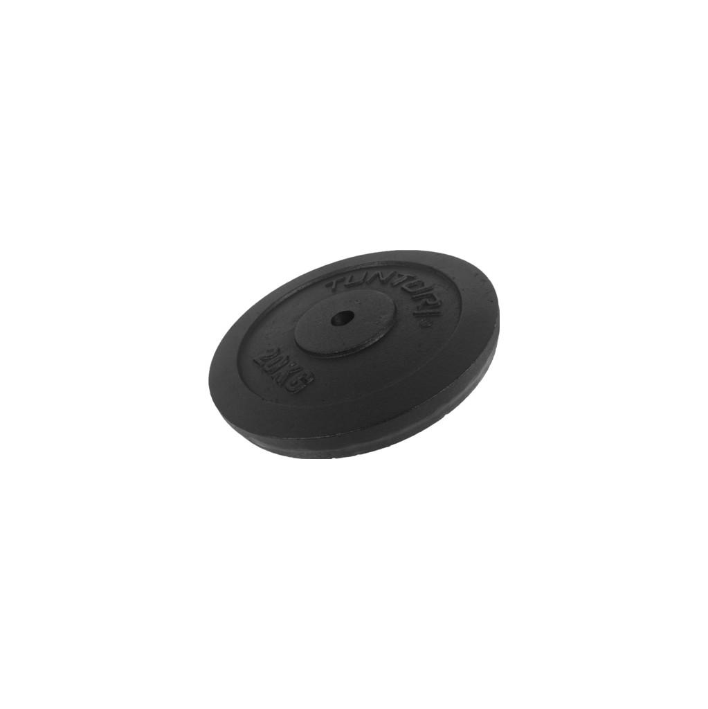 Tunturi Plate 1x 20 kg Black in Hamont-Achel