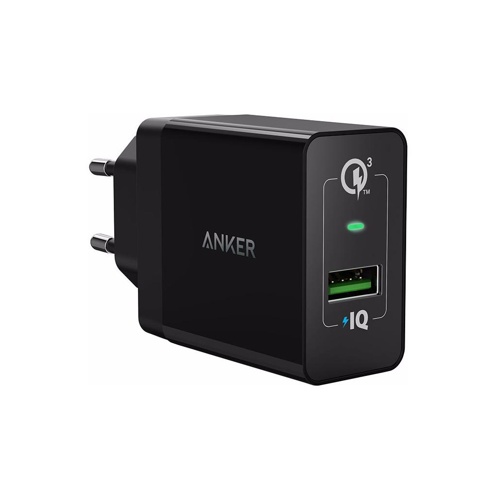Afbeelding van Anker PowerPort+1 Adapter USB Quick Charge 3.0 Zwart thuislader