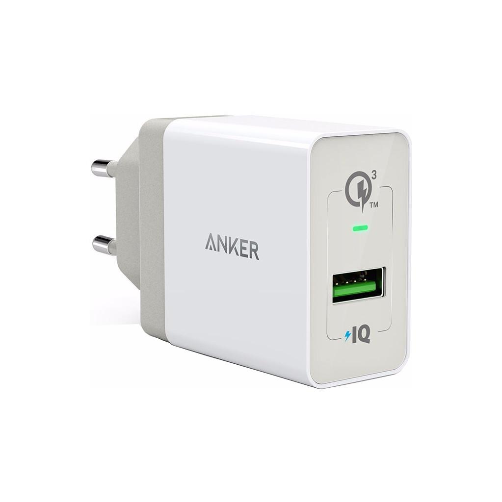Anker POWERPORT +1 QC 3.0 wit