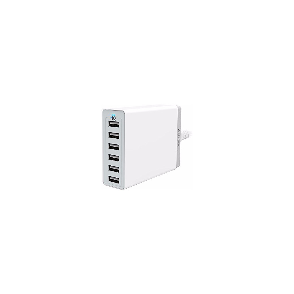 Anker PowerPort 6 12A Wit in Hollain