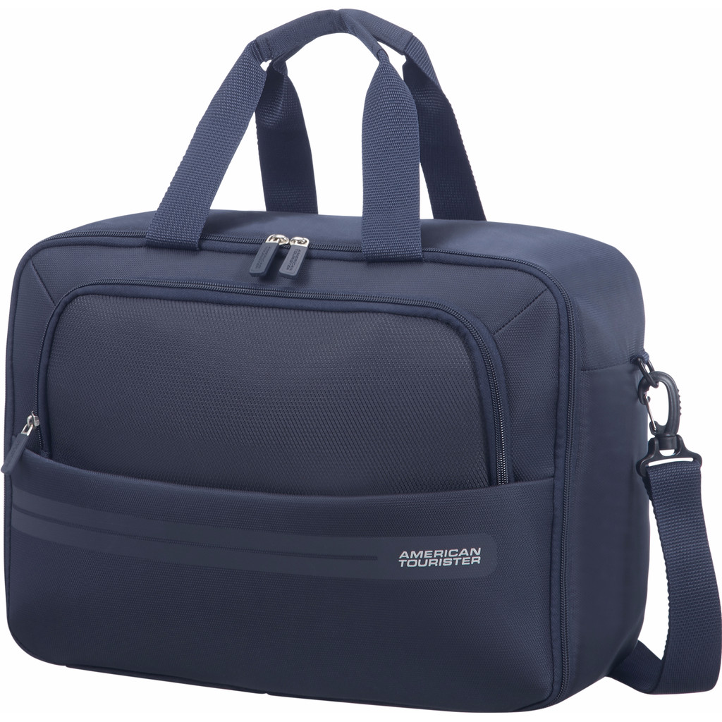 Afbeelding van American Tourister Summer Voyager 3 Way Boarding Bag Midnight Blue