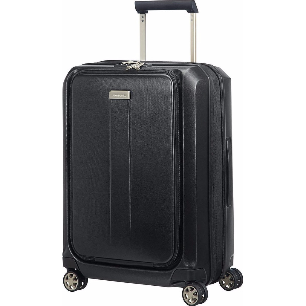 Samsonite Prodigy Expandable Spinner 55cm Black in Boksheide