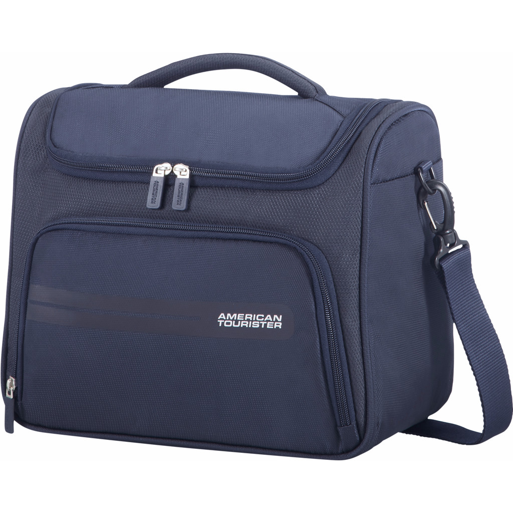Afbeelding van American Tourister Summer Voyager Beauty Case Midnight Blue