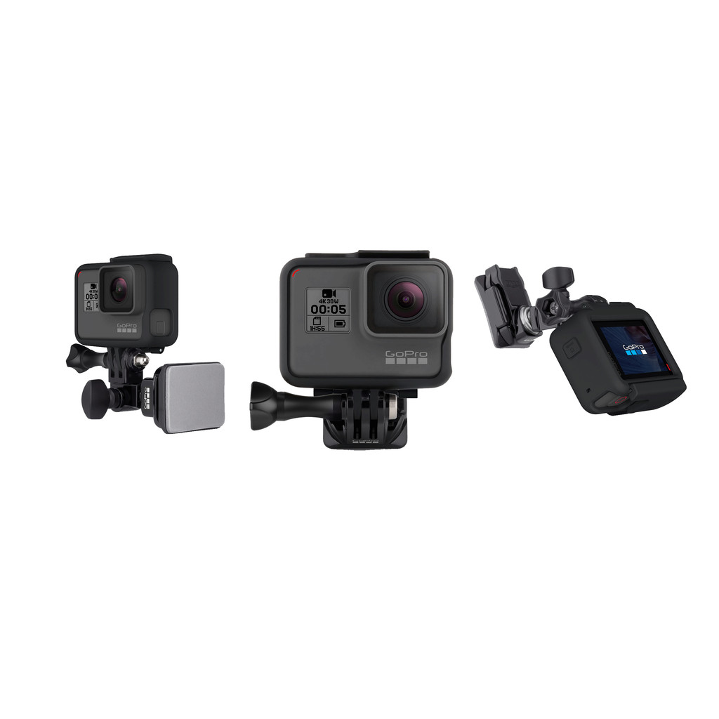 GoPro Helmet Front + Side Mount in Héron