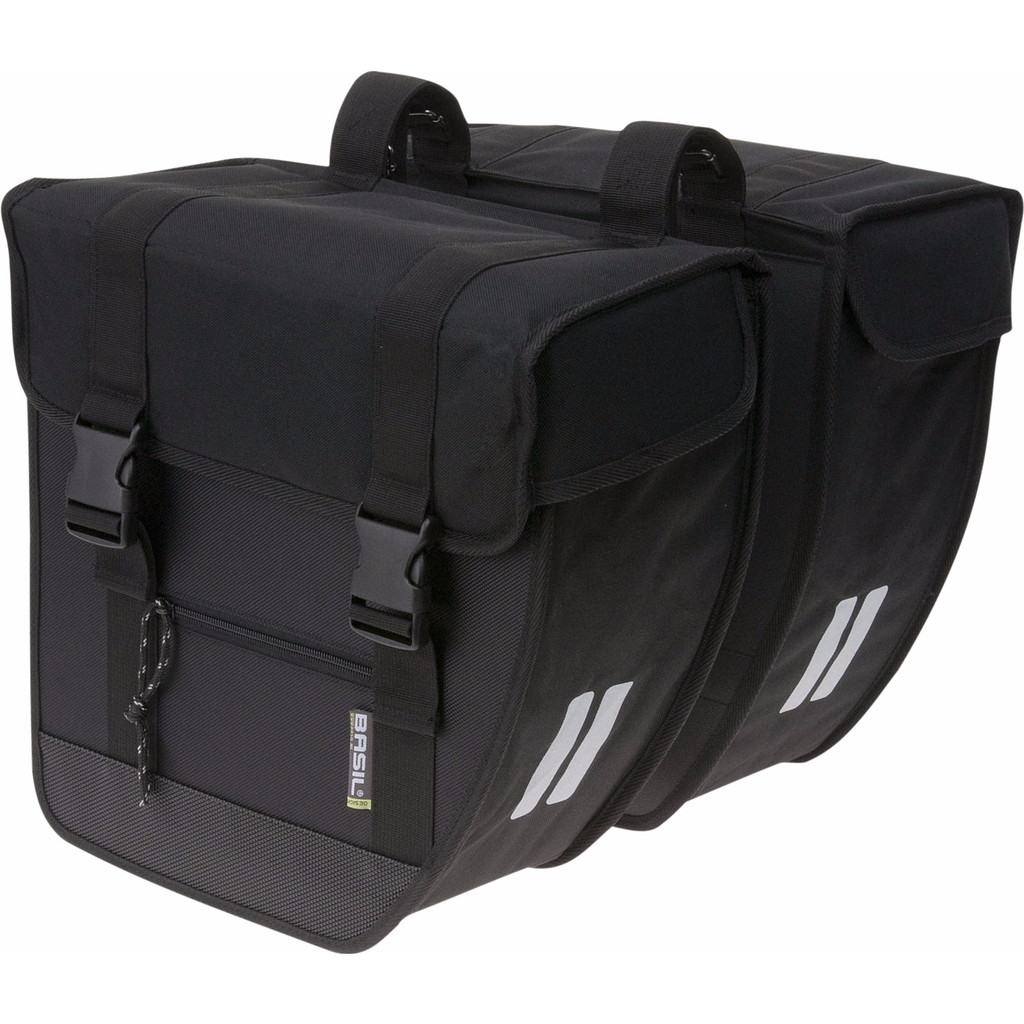 Basil Tour XL 40L Zwart in Rande