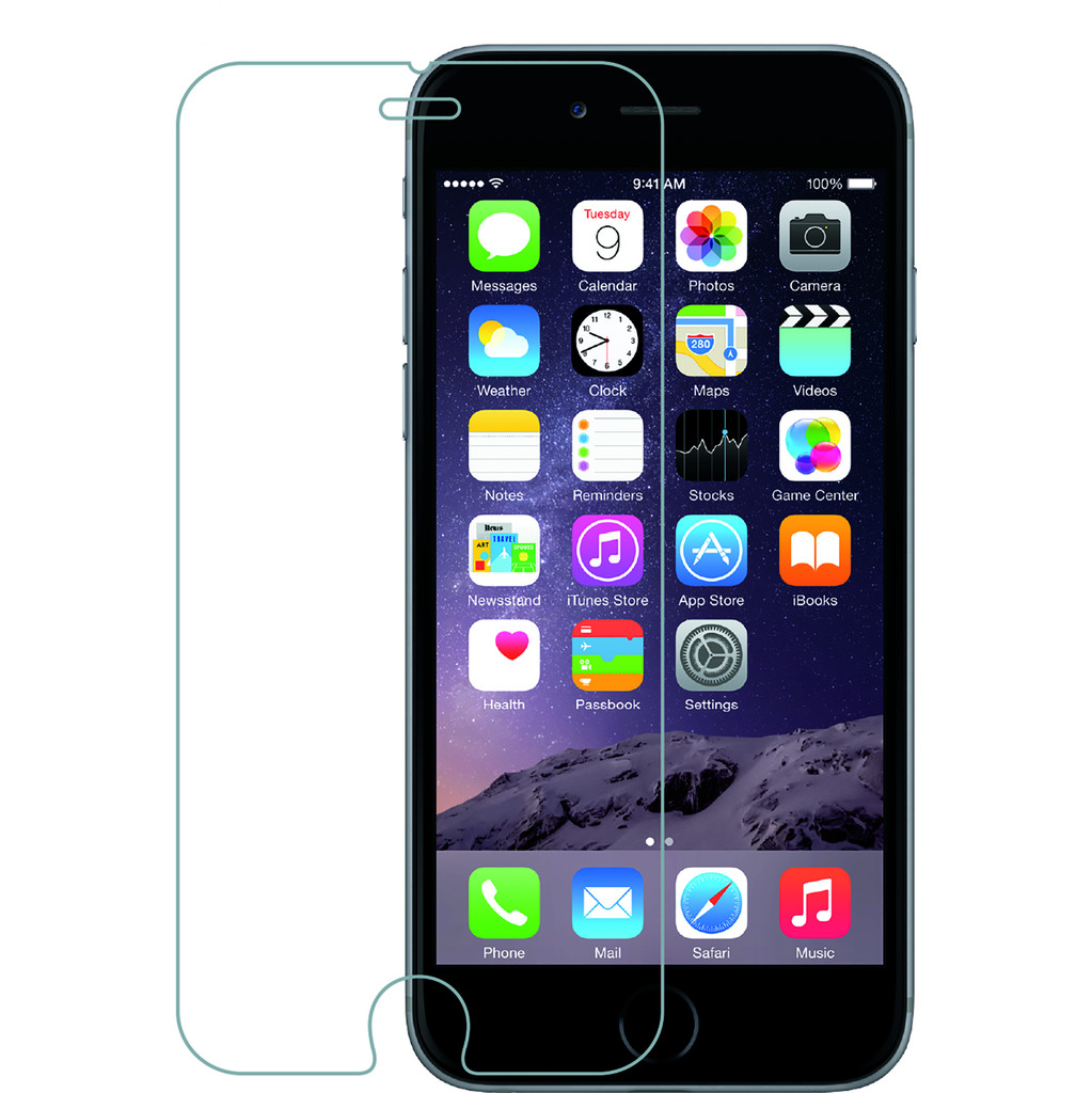 Azuri Apple iPhone 7/8 Screenprotector Gehard Glas in Tohogne