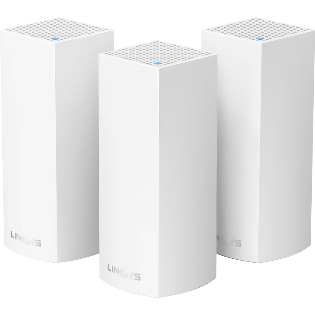 Linksys Velop tri-band Multiroom wifi (3 stations) in Leeuw