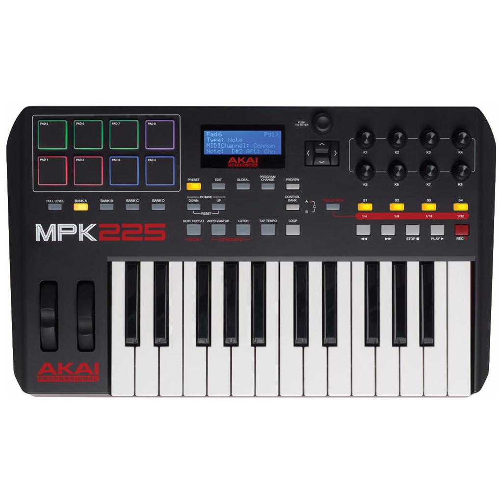AKAI MPK 225 MIDI-controller