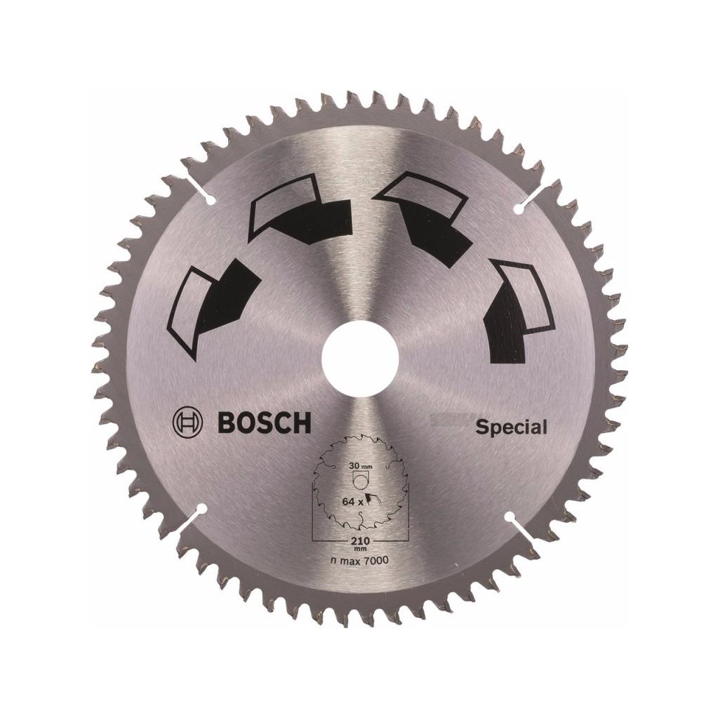 Bosch Zaagblad Special 210x30x2mm T64 in Zoelmond