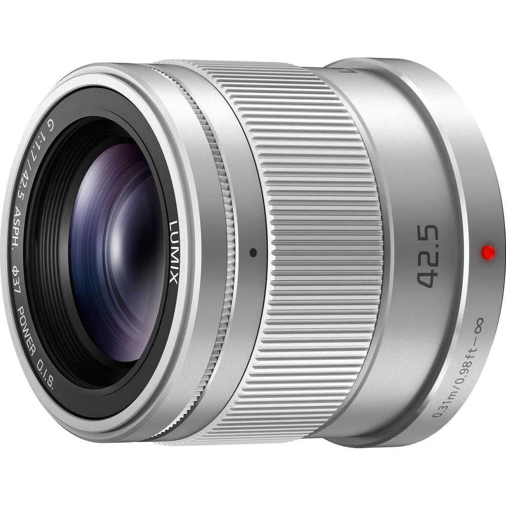 Panasonic Lumix G 42,5mm f/1.7 ASPH O.I.S. Zilver